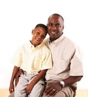 Father with Son needing tutoring